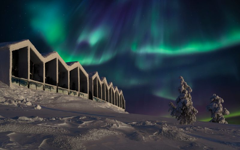 Santa's Star Arctic Hotel